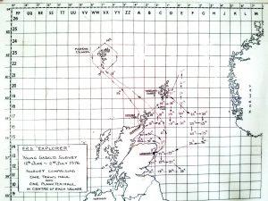 Voyage Plan July 1976