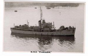 HMS Fluellen before conversion to FRV Scotia.