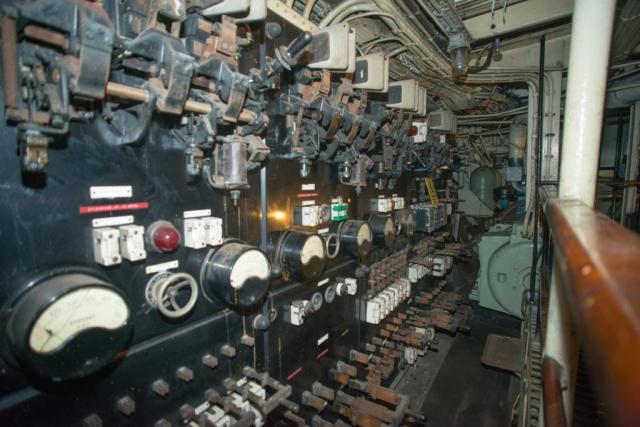 SS Explorer Main DC Switchboard