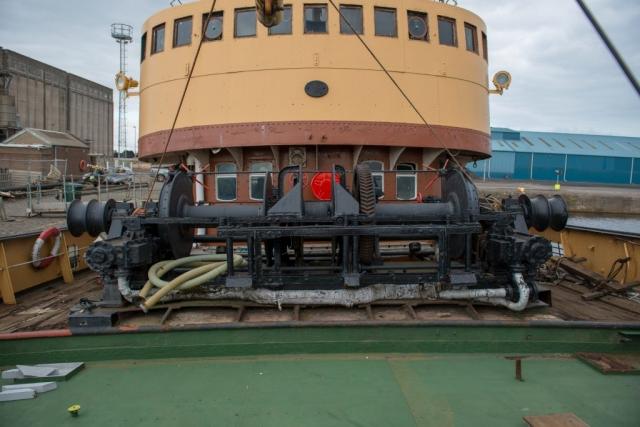 SS Explorer Trawl Winch