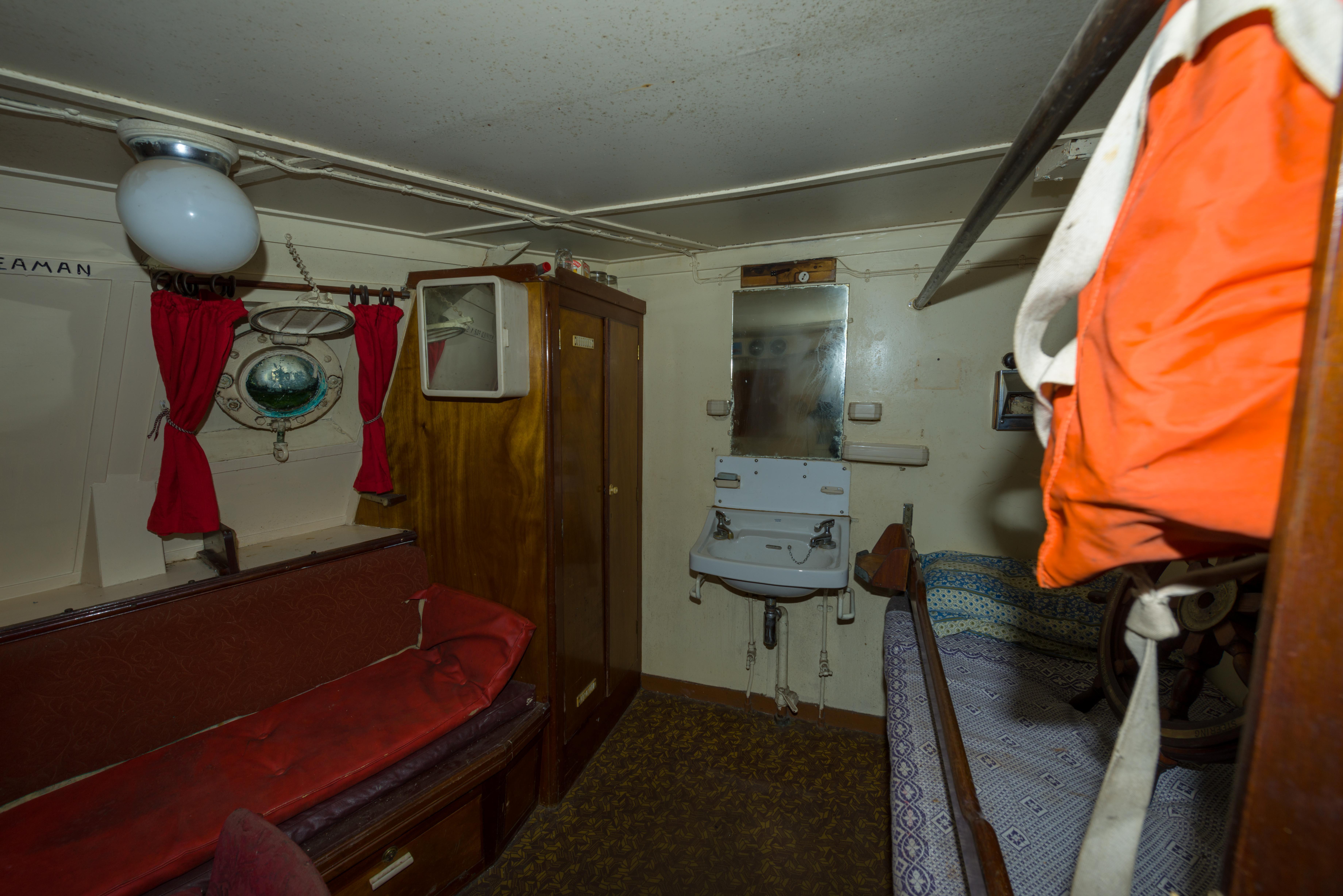 SS Explorer fishing skipper's cabin