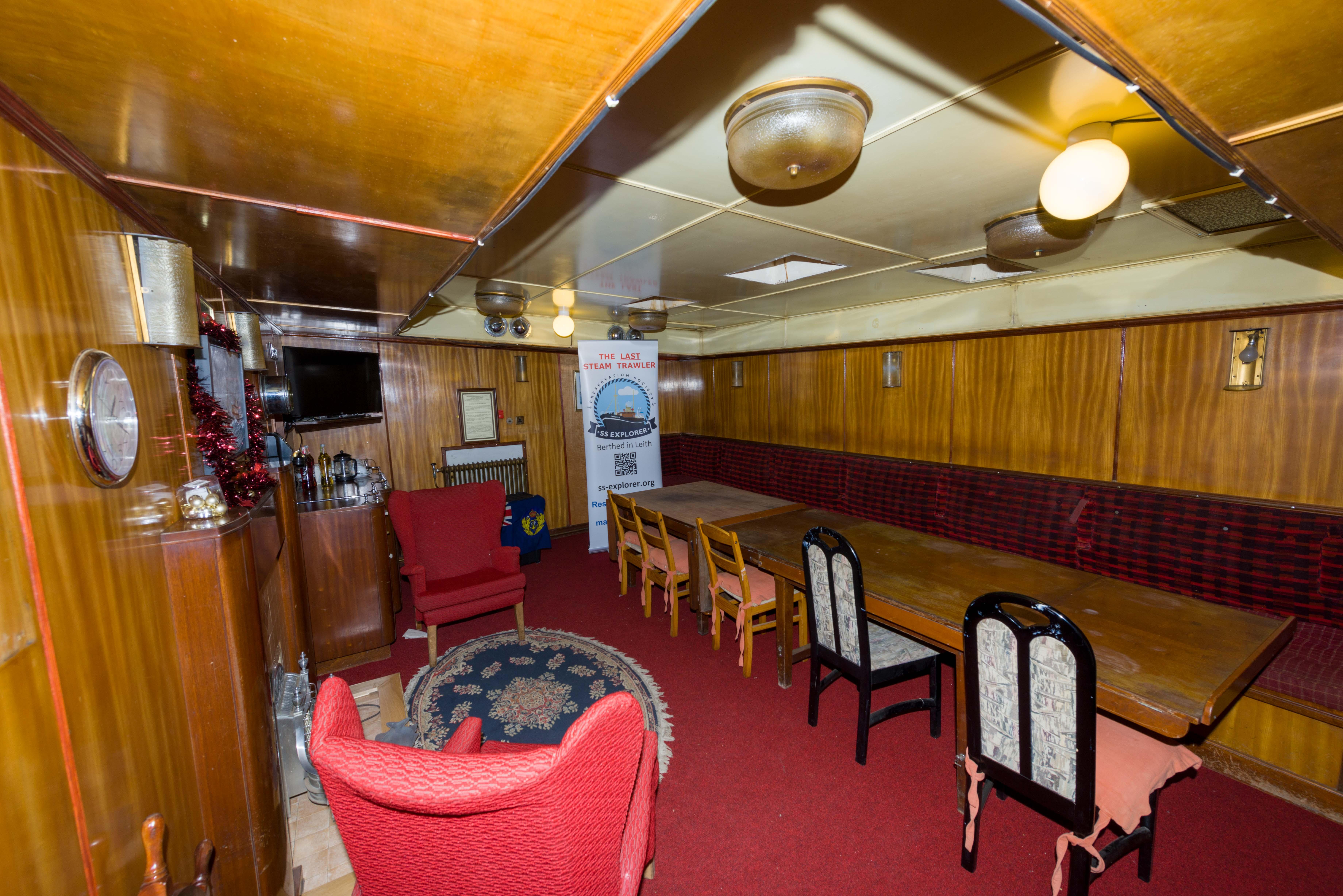 SS Explorer saloon looking aft
