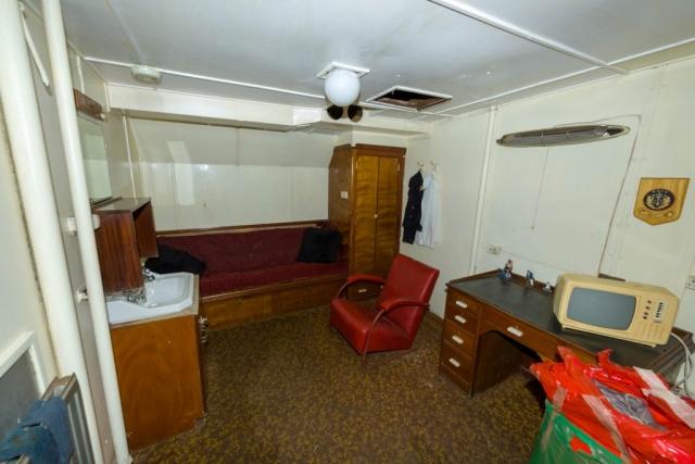 SS Explorer mate's cabin
