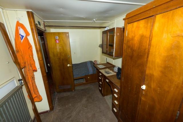 SS Explorer second engineer's cabin