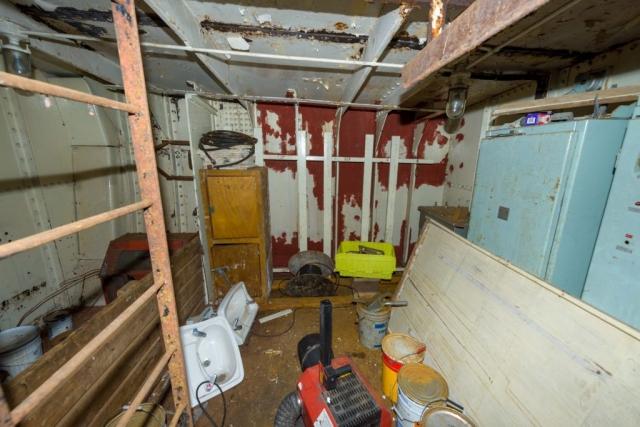 SS Explorer Store room below main deck