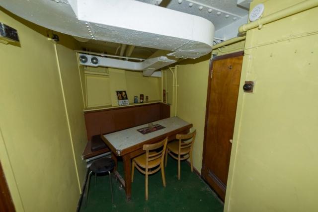 SS Explorer crew recreation room forward