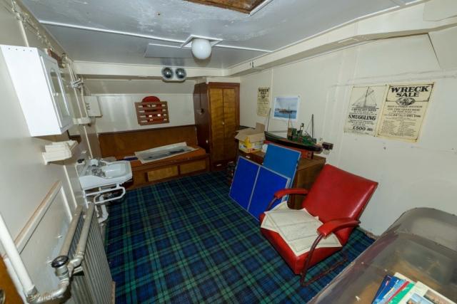 SS Explorer scientists cabin (Aka Arab quarter)