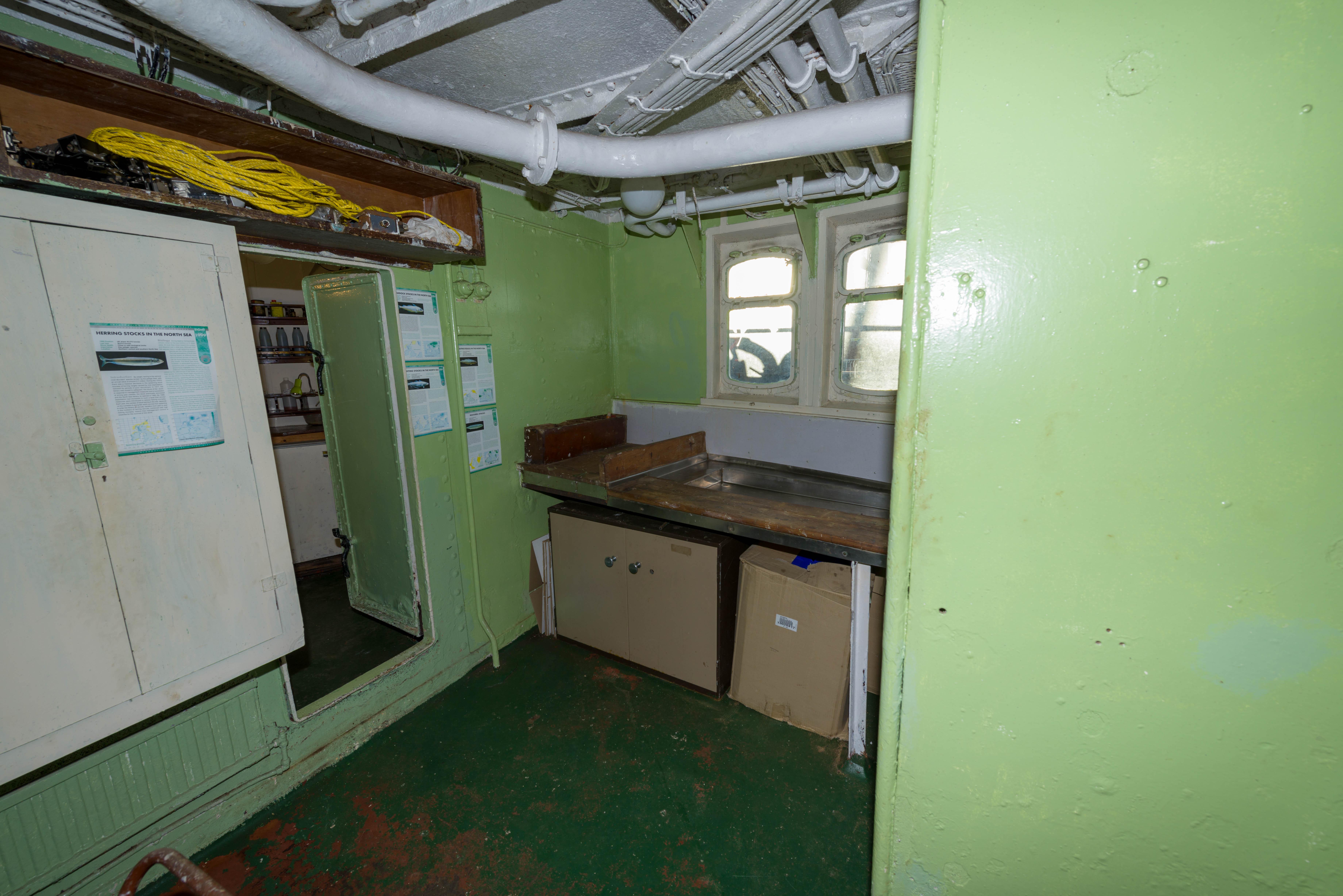SS Explorer fish lab