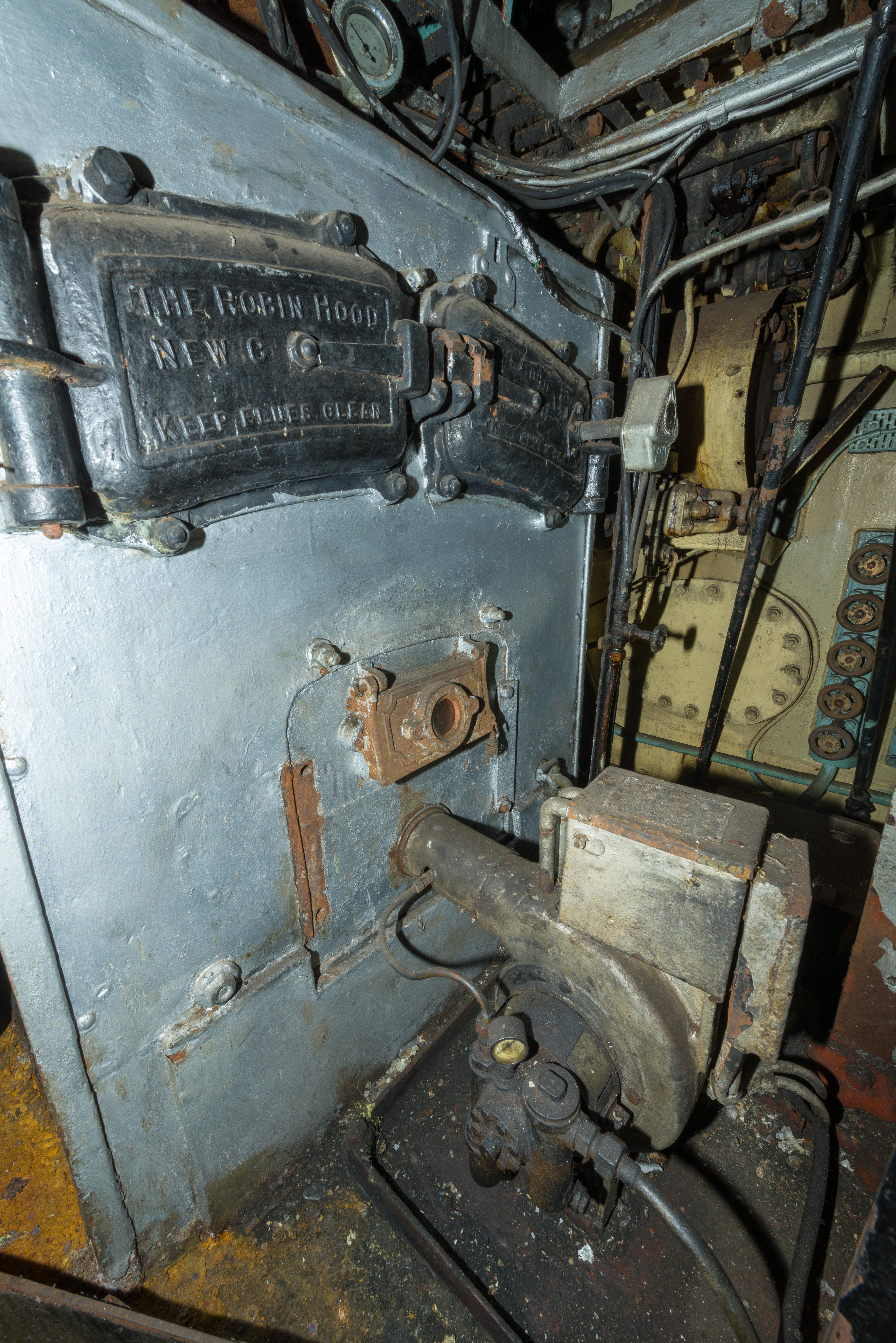 SS Explorer Domestic Boiler