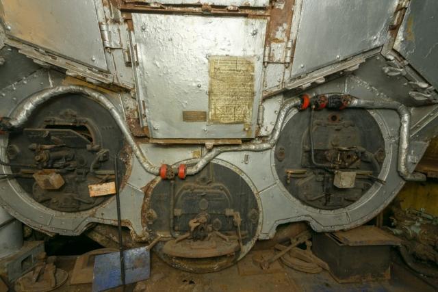 SS Explorer Main Boiler Furnaces and Wallsend Howden Oil Burning System