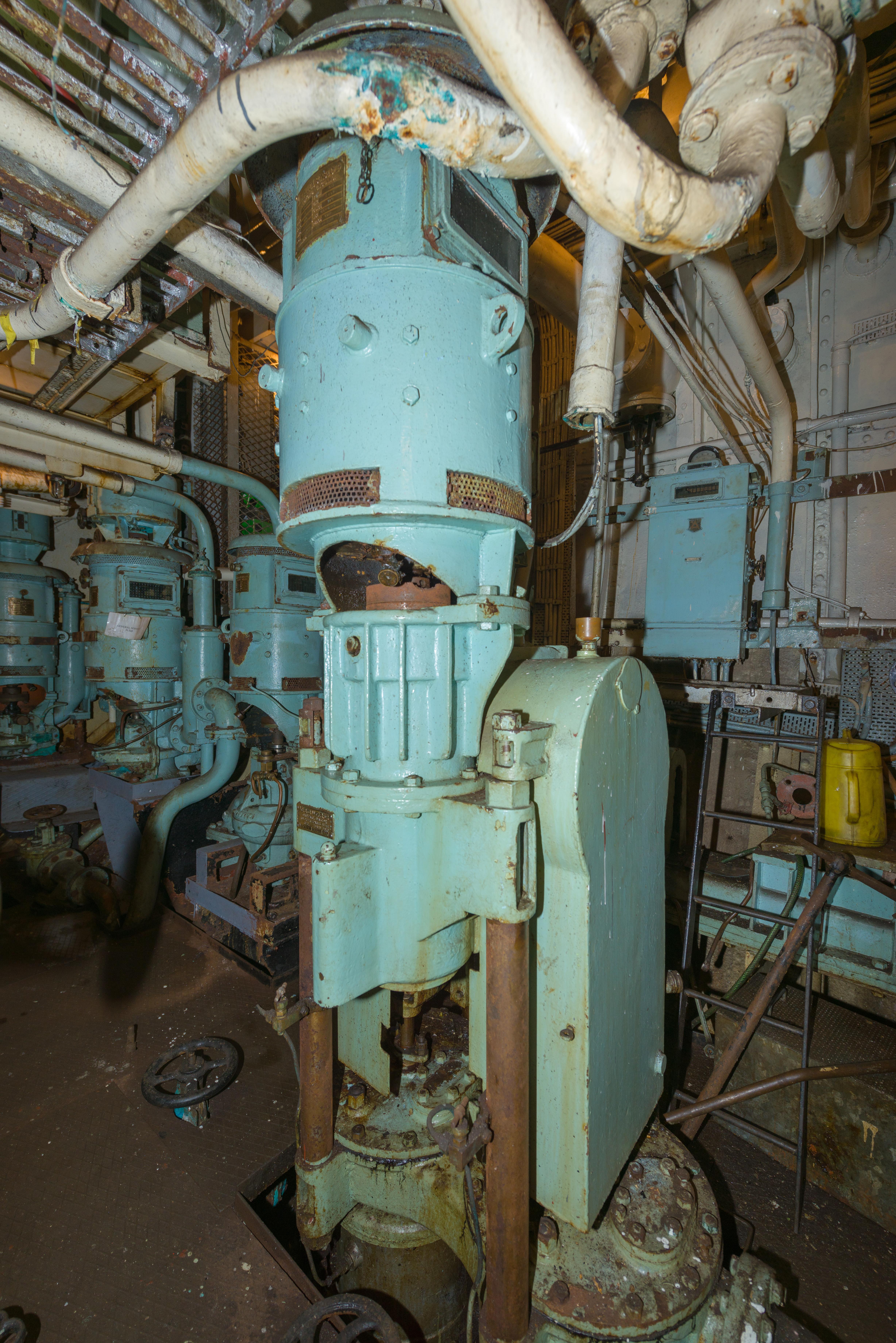 SS Explorer Main Air Pump
