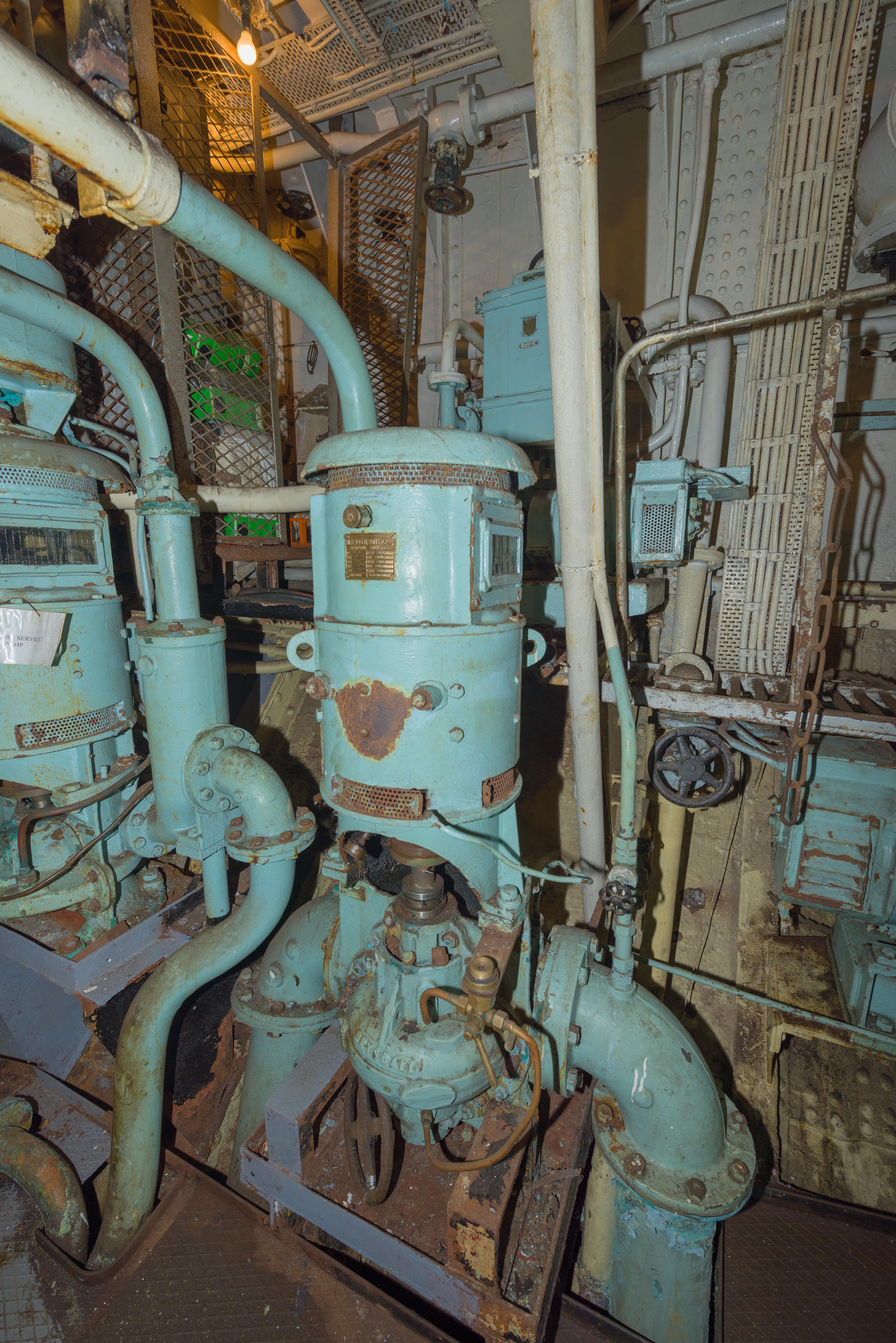 SS Explorer Condenser Circulating Pump