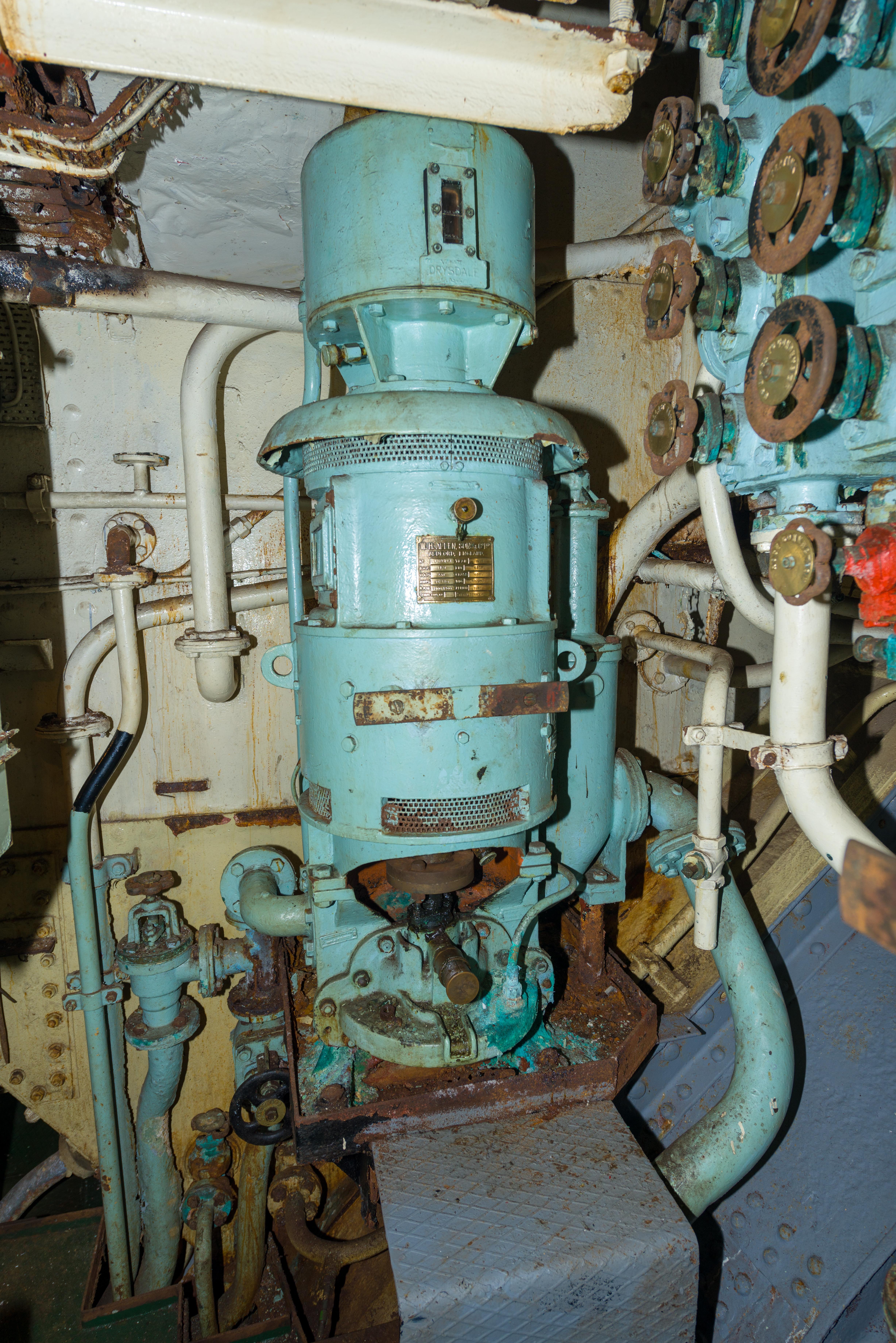 SS Explorer Aft General Service Pump