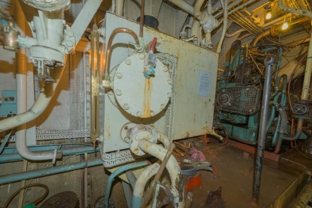 SS Explorer Feed Water Filter Tank
