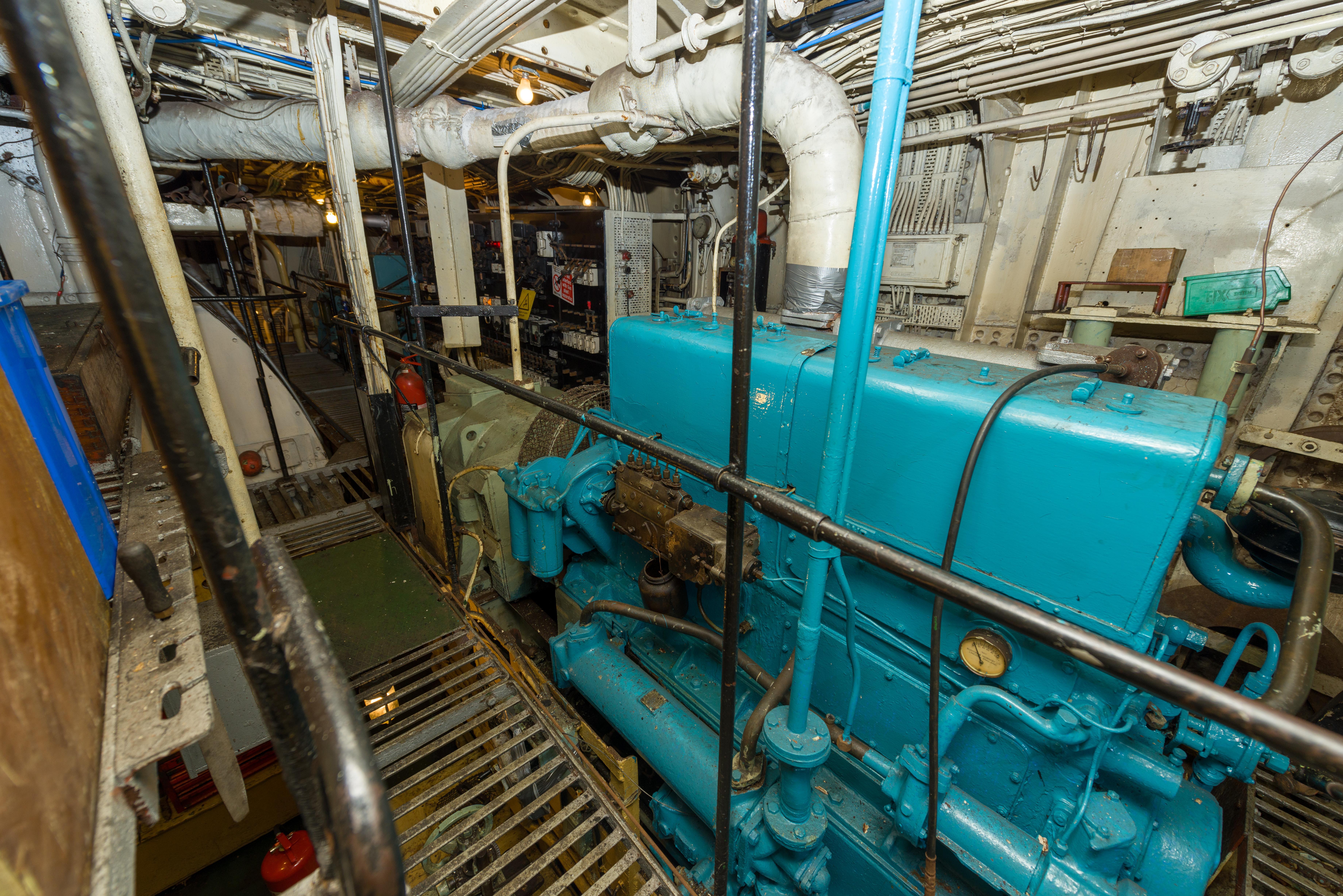 SS Explorer 80kw Generator Set 2