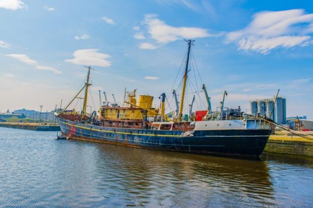 SS Explorer Edinburgh Dock Leith
