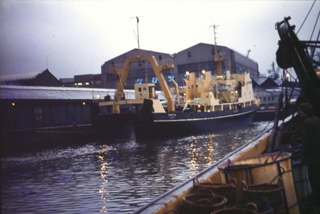 Scotia 2 in  Greenock.  ©John Dunn