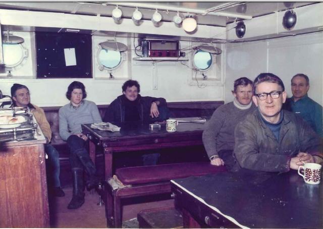 Crew Mess room aft ©John Dunn