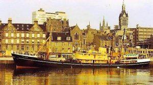 SS Explorer in Aberdeen