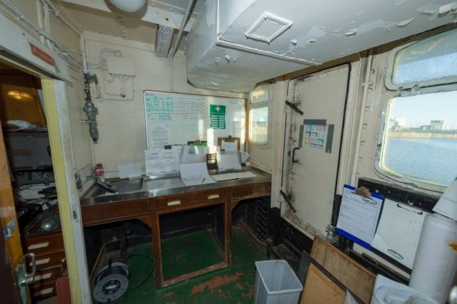 Plankton Lab Looking Aft